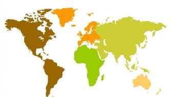Svensken ger hellre till Europa än till Asien
