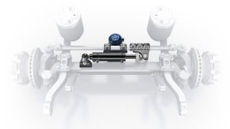 electro-hydraulic auxiliary steering system Active Reverse Control