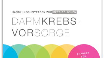 Cover: Handlungsleitfaden zur betrieblichen Darmkrebsvorsorge - Chancen für Mitarbeiter und Unternehmen