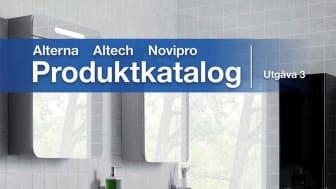 Ny produktkatalog Alterna, Altech och Novipro