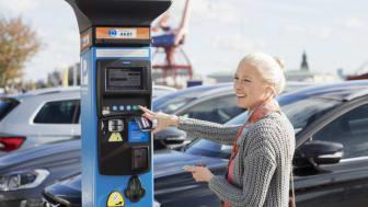 Betala snabbt och enkelt i Parkering Göteborgs betalautomat eller mobilapp.