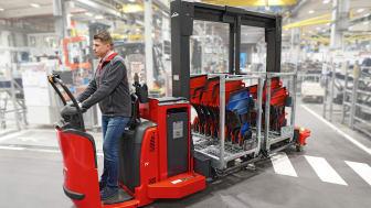 Nya Trolley Supply Truck från Linde Material Handling