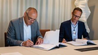 Avtalet om Landvetter undertecknas mellan Zeppelin och Swedavia