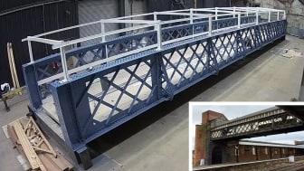 Landmark luggage bridge to be reinstalled at Worcester Shrub Hill