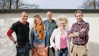 Rivstarta vårens hemmaprojekt och möt de kända programledarprofilerna på Äntligen hemma-mässan.