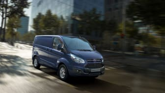 Nye Ford Transit Custom nylig kåret til International Van of the Year.