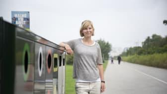 Att minska nedskräpningen och öka återvinningen av plast är Sysavs och kommunernas mål, berättar Jonna Ganslandt, projektledare på Sysav.