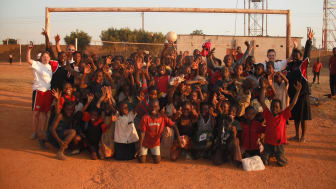 Volunteer Zambia - Northumbria University staff and student volunteers delivery football coaching in Zambia