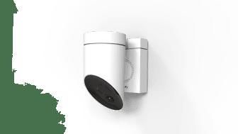 Somfy Outdoor Camera i vitt utförande