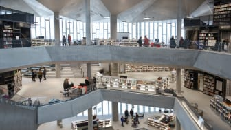 Welcome to the new public library of Oslo, Norway – Deichman Bjørvika