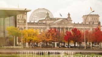 Tyska regeringsförhandlingar drar upp kraftpriset