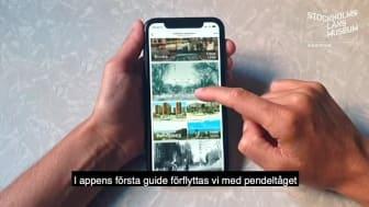 Upptäck historien – app om historia i Stockholms län