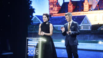 H.K.H. Kronprinsesse Mary og H.K.H. Kronprins Frederik til Kronprinsparrets Priser 2015