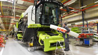 CLAAS records stable development in uncertain market environment