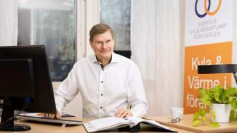 Per Jonasson, vd på Svenska Kyl & Värmepumpföreningen