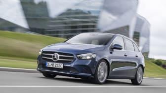 Danske priser på den ny Mercedes-Benz B-Klasse