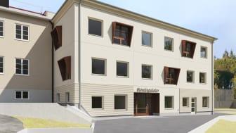 Huddinge Samhällsfastigheter bygger om Stensängsskolan i Stuvsta