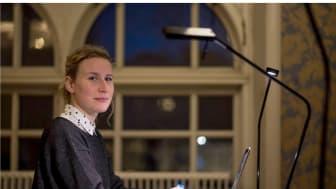 Anders Walls London-stipendium till Fanny Siltberg