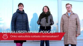 Vastuullisesti hyvää -podcast: Onko vastuullista suklaata olemassakaan?