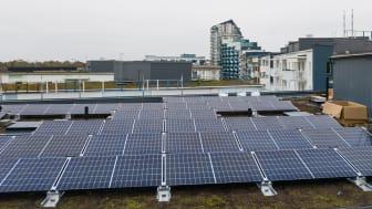 Solceller för minskad miljöpåverkan