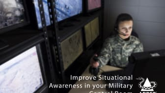 Improve Situational Awareness in your Military Control Room