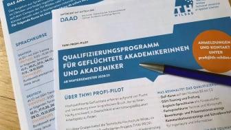 Das Kursangebot ab Oktober 2020: Anmeldungen sind jederzeit möglich unter profi@th-wildau.de. (Bild: TH Wildau)