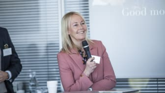 Kathrine Löfberg, chair of the board at Löfbergs since 2015.
