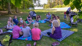 Svenska Downföreningens Babyläger sommaren 2019
