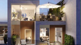 I Brf Pärlan ryms totalt 107 lägenheter från 1-5 rum och kök.
