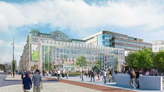 Nu gör vi om Helsingborg C till ett modernare resecentrum med fler kontor och en ny matdestination.