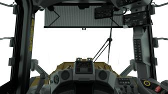 Cat 980 XE, interiör