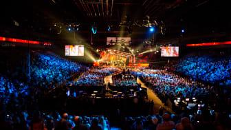 Malmö arena, från Melodifestivalen 2013.
