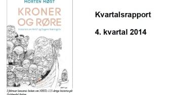 NHST Media Group - Kvartalsrapport 4. kvartal 2014