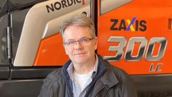 Lars Åhlander, verksamhetsansvarig för Delvator Maskinuthyrning AB.