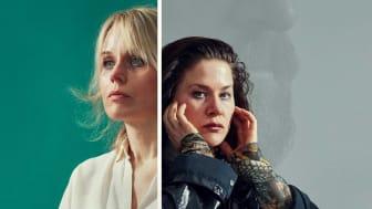 """Helena af Sandeberg och Emma Broomé i """"Ex"""". Foto: John Gripenholm"""
