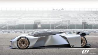 Team Fordzilla P1-konsept Gamescom 2020, virtuell racerbil