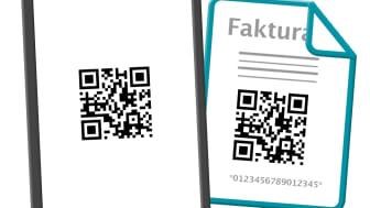 Enklare betalningar med QR-kod på fakturan