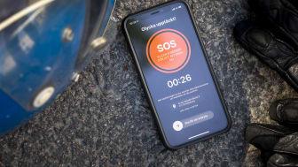 SOS Alarm lanserar sensorlarm för MC-olyckor
