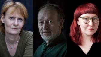 Tina Enghoff (foto; Kent Klich), Anders Kristensson (Foto; Monika Norrby), Nora Lorek