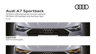 HD Matrix LED headlight with Audi laser light (kombinationer)
