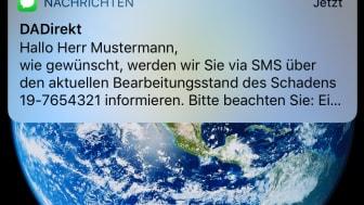 DA Direkt - SMS Informationsservice_Beispielbild1