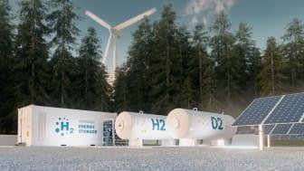 Sweco laatii toteutettavuussuunnitelman P2X Solutions Oy:n vihreän vedyn tuotantolaitokselle
