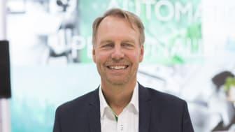 Leif Brattschöld, CEO på Regin