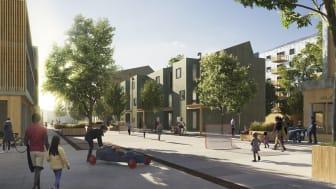 White formger en av Sveriges mest energismarta stadsdelar i Örebro