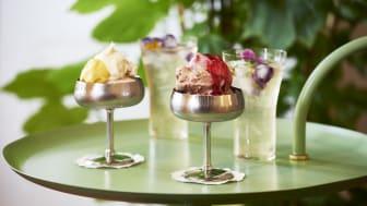Svenskt Tenn öppnar uteservering med glass på Strandvägen
