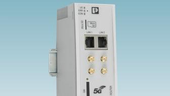 5G Router från Phoenix Contact som utvecklas i samarbete mellan Phoenix Contact, Ericsson och Quectel