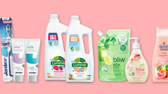 Orkla Care Finlandin syksyn uutuuksissa paljon ympäristömerkittyjä tuotteita