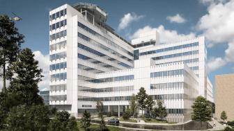 Kulturförvaltningen Region Stockholm utlyser två konstuppdrag i anslutning till ny vårdbyggnad vid Danderyds sjukhus