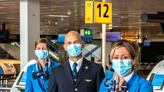 Gate agents at Amsterdam Schiphol Airport