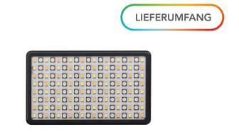 Walimex pro Rainbow Pocket RGBWW 23036 05 Lieferumfang